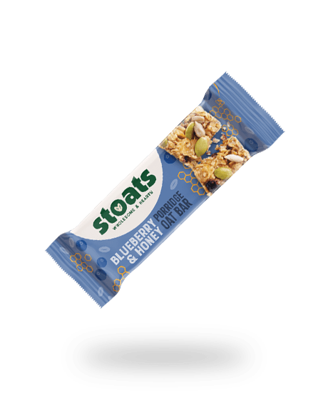 Blueberry & Honey Porridge Bar 50g