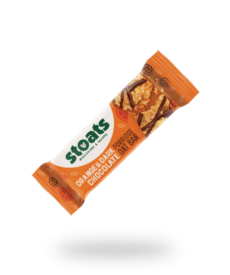 Orange & Dark Chocolate Porridge Oar Bar 50g