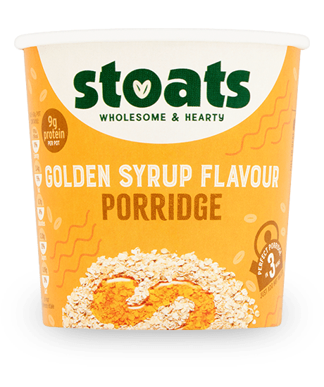 Golden Syrup Porridge Pot 60g x16