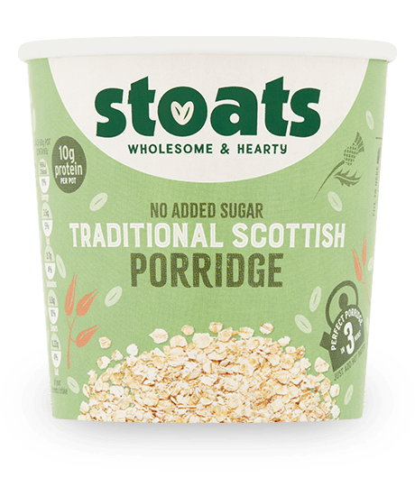 Traditional Scottish Porridge Pot 60g x16