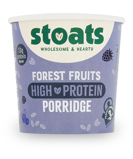 Forest Fruits High Protein Porridge Pot 60g
