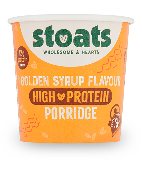 Golden Syrup High Protein Porridge Pot 60g x16