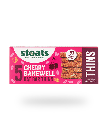 Cherry Bakewell Flavoured Oat Bar THINS  22g x5